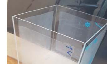 투명 아크릴 2T 가공